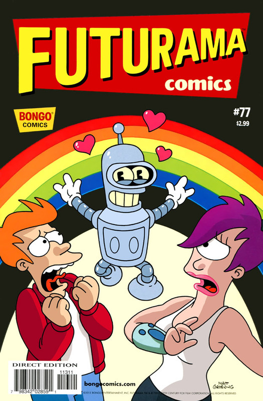 Bongo Comics Presents Futurama Comics (2000-2017)